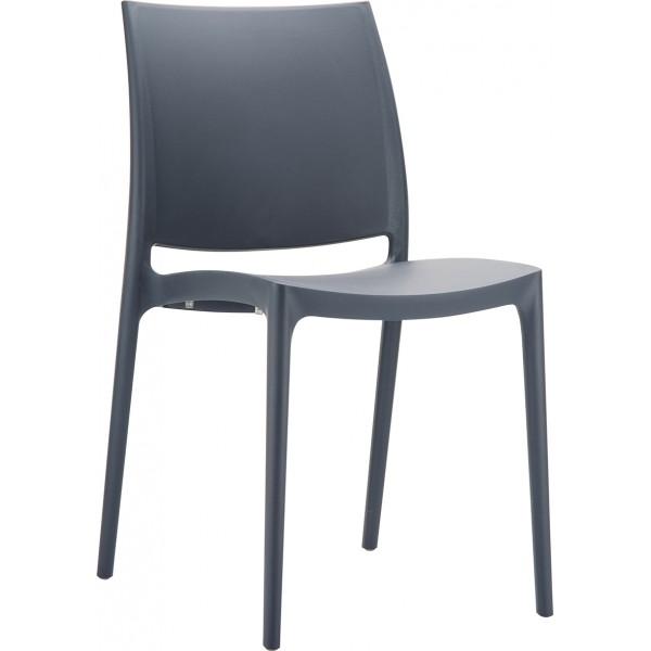 chaise design blanche la joyeuse. Black Bedroom Furniture Sets. Home Design Ideas