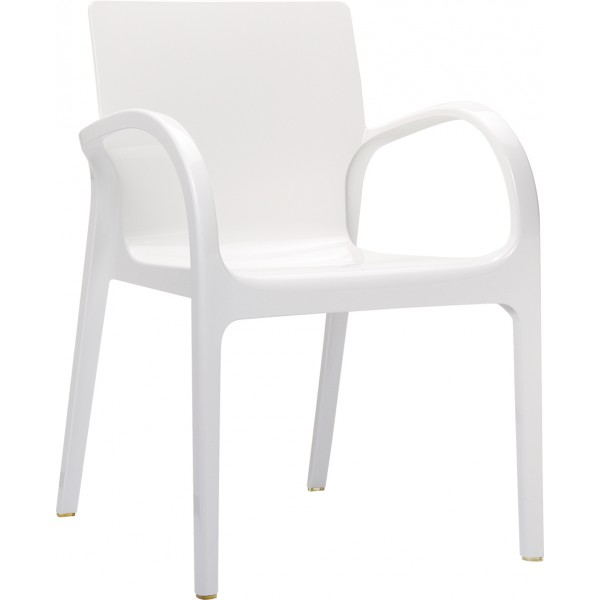 fauteuil design blanc l 39 incontournable. Black Bedroom Furniture Sets. Home Design Ideas
