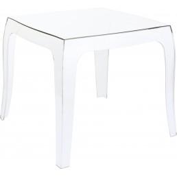 La reine table basse transparente un peu plus - Table basse relevable transparente ...