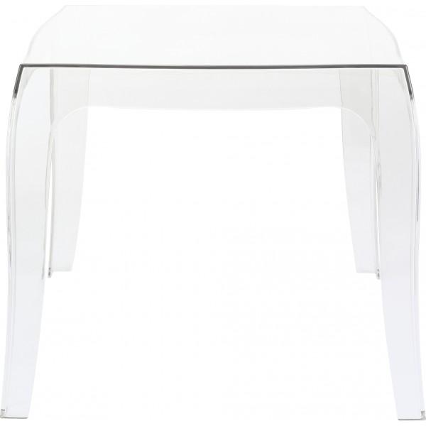 la reine table basse transparente un peu plus. Black Bedroom Furniture Sets. Home Design Ideas